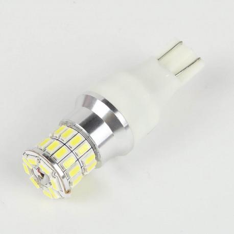 Eclairage LED pour voiture et moto : Ampoule LED T10 - W5W - 36 Leds Blanches Canbus