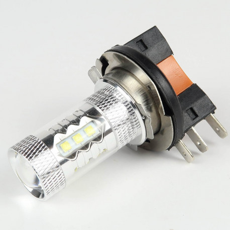 Ampoule H15 80W Blanche CREE DRL CANBUS
