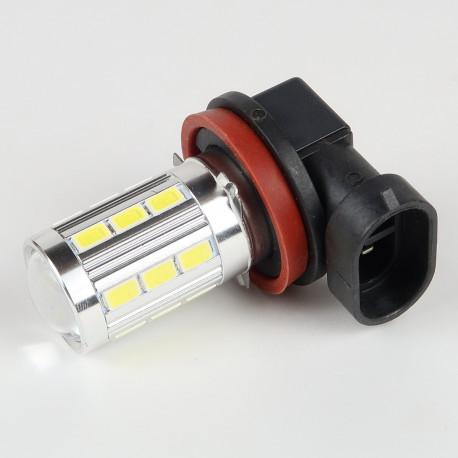 Ampoule H9 Blanche CANBUS 21 LEDs 5730