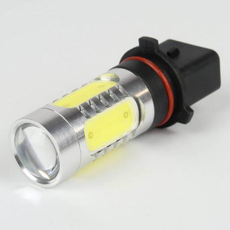 Eclairage LED pour voiture et moto : Ampoule led PSX26W 7.5W 10-25V Blanche