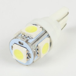 5 LED Bulb T10 SMD5050 White FIRST