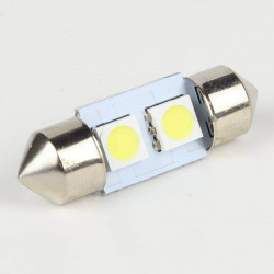 Ampoule led Navette C5W 2 Leds SMD5050 31 mm FIRST