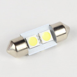 Ampoule Navette C5W 2 Leds SMD 5050 31 mm