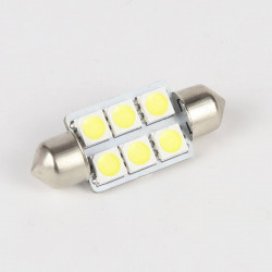 Ampoule Led Navette C5W 6 Leds 36 mm