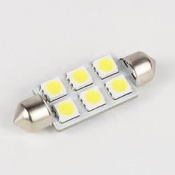 Festoon LED Bulb C5W 6 LED 41 mm