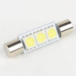Ampoule Navette Fusible 3 Leds SMD 5050 29 mm