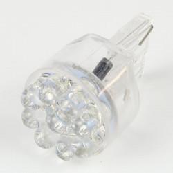 Ampoule LED T20 - W21W - 9 LEDs Bleues