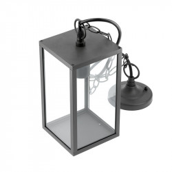 VENTANA E27 Garden Hanging Light Aluminum and Glass