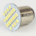 Led bulb BAY15D/1157 22 Led SMD White 6V