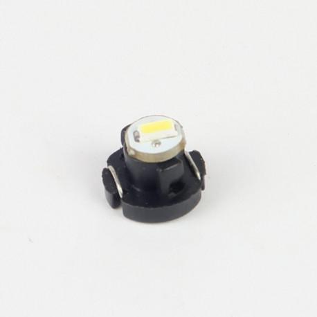 Eclairage LED pour voiture et moto : Ampoule Led T3 1 Led SMD3014 11Lm Blanche