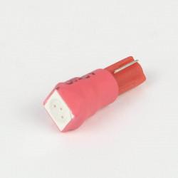 Led bulb T5 - W1.2W - 1 Led SMD5050 Red