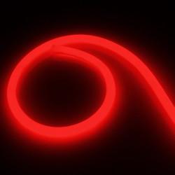 Neon Flexible LED 360 Round 120 LED/m, 220V AC Red