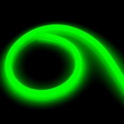Neon Flexible LED 360 Round 120 LED/m, 220V AC Green