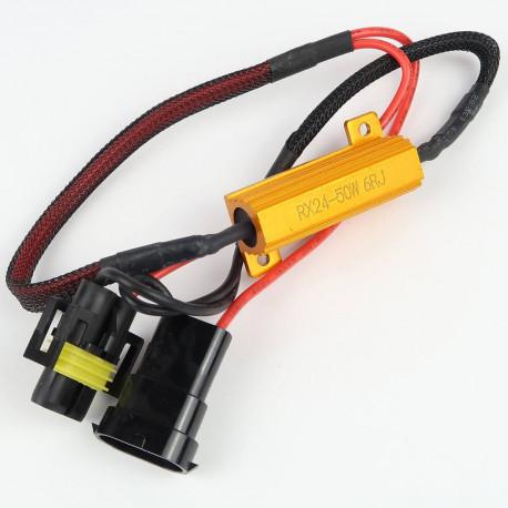 Accessoires LED pour voiture et moto : Résistance anti-erreur pour HB4/9006