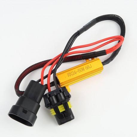 Accessoires LED pour voiture et moto : Résistance anti-erreur pour HB3/9005