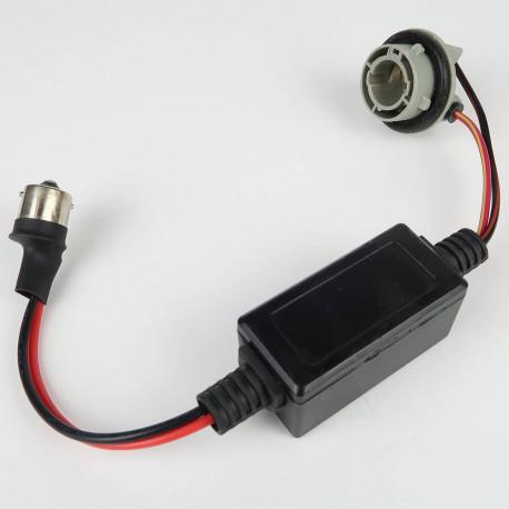 Accessoires LED pour voiture et moto : Module Anti-Erreur ODB BA15S plug&play