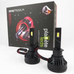 Kit LED H1 55W/7500Lm SUPERCANBUS 6500K Ventilé