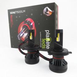 Kit LED H4 55W/7500Lm SUPERCANBUS 6500K Ventilé