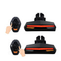 Feu arrière clignotant LED de vélo stop, clignotants et Laser de délimitation