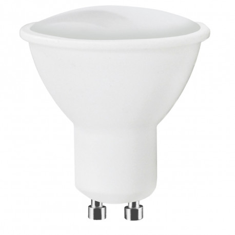 Ampoule à led spot pour maison et jardin : Lot de 10 ampoules LED GU10 5W Blanc Chaud 120° 380 Lm