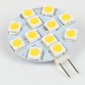 Ampoule led G4 12 Leds SMD5050 Blanc Chaud