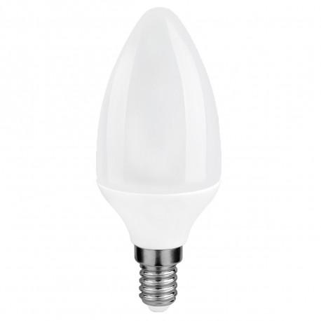 Lot de 10 ampoules LED E14 7W Blanc Chaud 180° 470Lm