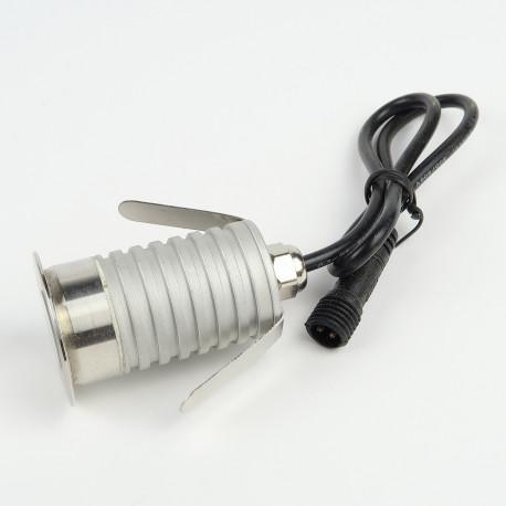 Spots à LED à encastrer pour maison et jardin : Spot LED Sol 3W Blanc chaud