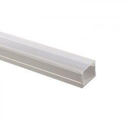 Profilé Aluminium avec Capot Continu pour Ruban LED 16mm