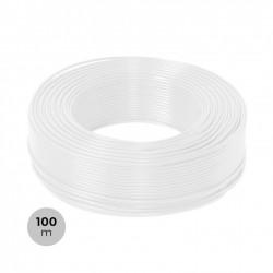 Rouleau 100m Gaine Câble Électrique 3x1.5mm² Blanc 1kV RV-K