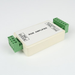 Repeater RGB 3 * 4A terminal block.