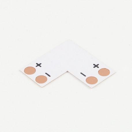 Accessoires pour bande LED : Bande d'angle 90° pour bande mono-couleur 8mm