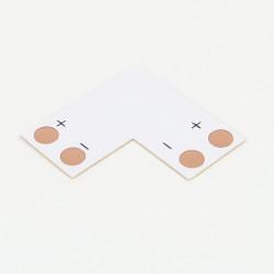 Bande d'angle 90° pour bande mono-couleur 10mm