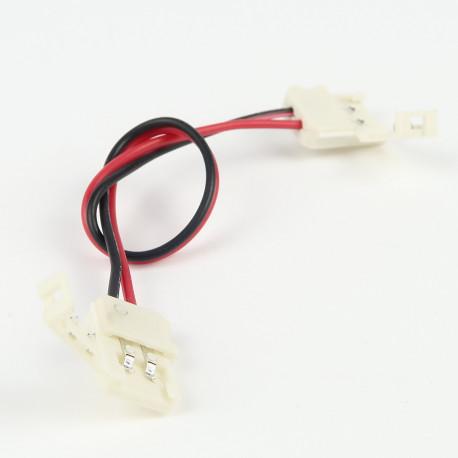 Accessoires pour bande LED : Connecteur à Câble Femelle-Femelle Mono Couleur
