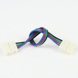 Connecteur à Câble Femelle-Femelle RGB (Pour bande classique)