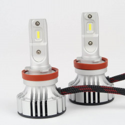 Kit LED H8/H11 5000Lm Haute Puissance 6000K Ventilé