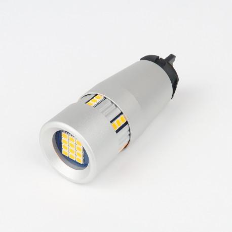 Eclairage LED pour voiture et moto : Ampoule LED PW24W Spéciale Clignotants 2000Lm - Bridée