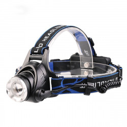 Rechargeable LED Headlamp with zoom
