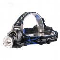Lampe LED frontale rechargeable avec zoom intégré