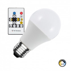 Ampoule LED T° Couleur Sélectionnable E27 Dimmable A60 9W