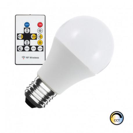 LED light bulb Colour temp Selectable E27 Dimmable A60 9W