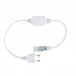 Câble Rectificateur Courant IP65 Ruban LED 220V AC Coupe Tous les 25/100cm
