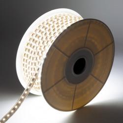 Bobine LED 220V AC Dimmable 60 LED/m IP65 Blanc Chaud (50 Mètres) Coupe Tous les 100cm