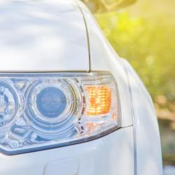 LED Front indicator lamps for Renault Megane 2 2002-2009