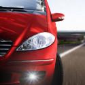 LED Front fog lights kit for Fiat 500 X 2014-