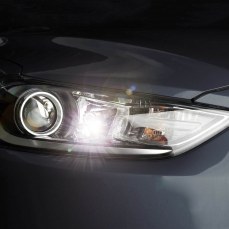 """Pack Halogène """"White Effect"""" Veilleuses/feux de jour pour Opel Astra J"""