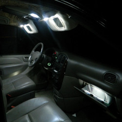 Interior LED lighting kit for Peugeot 407 2003-2011