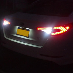 LED Reverse lights kit for Peugeot 407 2003-2011