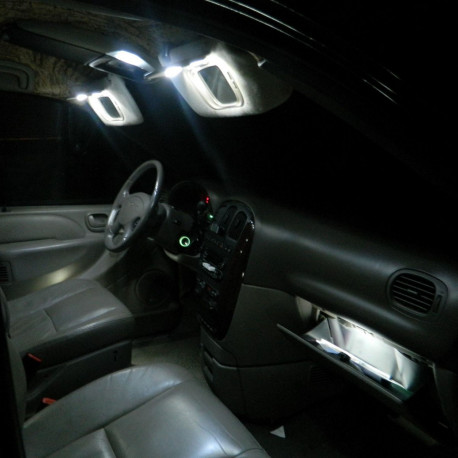 Interior LED lighting kit for Peugeot 5008 2009-2017