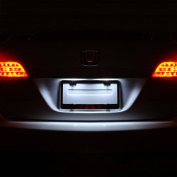 Pack LED plaque d'immatriculation pour Peugeot 807 2002-2014