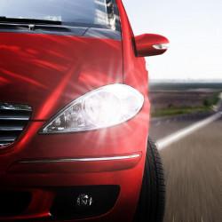 Pack LED feux de croisement/feux de route pour Renault Twingo 2 2007-2014